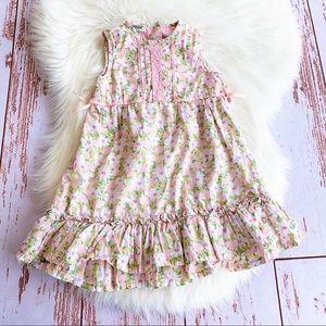 OshKosh Floral Ruffle Dress Size 5